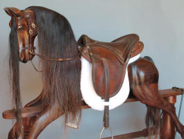 Becky's Horse created by Al Carr of Native Texan Horses in Fredericksburg, TX.