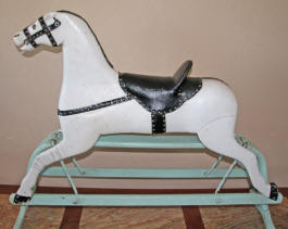 Janice's Glider Horse Restoration by Al Carr at Live Oak Creek Stables